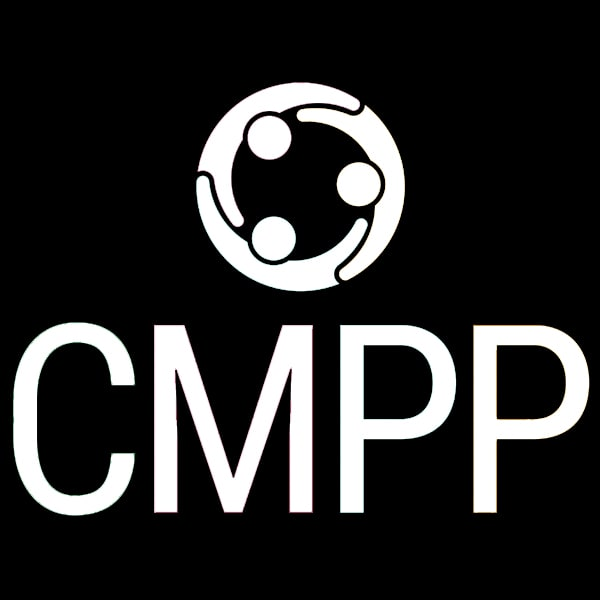 CMPP Black and White Square logo